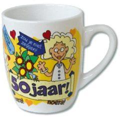 123 Kado koffiemokken Cartoonmok 50 jaar vrouw - Sarah