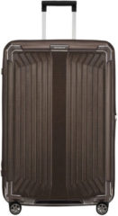 Bronze Samsonite Lite-Box spinner 75 cm walnut