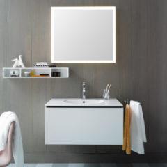 Duravit Specchio con illuminazione LED L-Cube L 80 cm