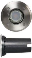 Roestvrijstalen Luxform 12 Volt Buitenverlichtingt LED York spot 120 mm doorsnee