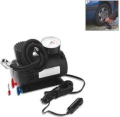 Aanhangwagendirect ProPlus Luchtcompressor - Compacte Bandenpomp - Auto, Motor, Fietsband en Voetballen - 12 Volt