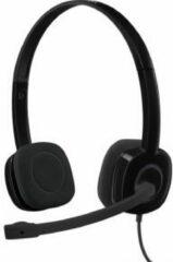 Logitech H151 PC-headset 3.5 mm jackplug Kabelgebonden, Stereo On Ear Zwart