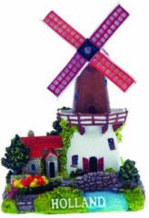 Massamarkt Molen bruin/wit S - Holland