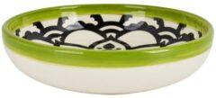 Xenos Schaal Marrakesh - groen - ø18 cm