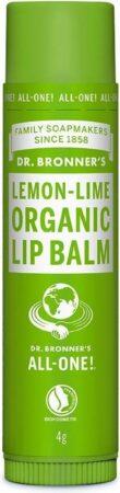 Afbeelding van Dr Bronners Dr. Bronner's Organic Lip Balm - Lemon/Lime