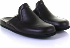 Bordeauxrode Rohde 6607 Pantoffels Slippers Wijnrood 44