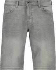 Grijze Cars Jeans - SEATLE Short Denim - Grey Used - Mannen - Maat L