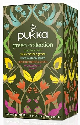 Afbeelding van Pukka Org. Teas groen collection 20 Stuks