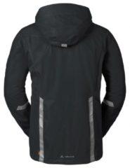 Zwarte VAUDE Luminum Jacket Regenjas Heren - Maat S