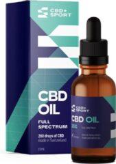 CBD+SPORT CBD Olie 25% - Full spectrum - 100% natuurlijk