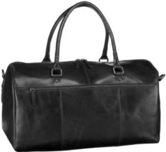 Zwarte Leonhard Heyden Cambridge Travel Bag black Weekendtas