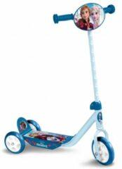 Disney Kinderstep Frozen 3-wiel Kinderstep Meisjes Blauw/lichtblauw