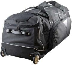Reisetasche XXL Rollenreisetasche 95 cm Dermata schwarz