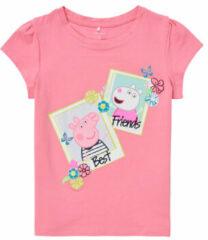 Gele Peppa Pig T-shirt Korte Mouw Name it PEPPAPIG
