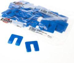 Belplast BV Uitvulplaatjes blauw (48 stuks) 4mm