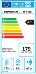 SEVERIN Kühl- und Gefrierkombination KS 9770, weiß