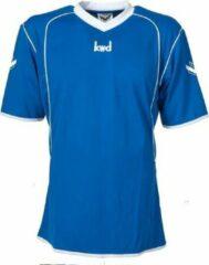 KWD Sportshirt Victoria - Voetbalshirt - Kinderen - Maat 140 - Blauw/Wit