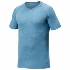 Woolpower - Lite Tee - Merino ondergoed maat XS, blauw/grijs