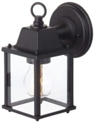 Zwarte Buitenlamp Irvins, Brilliant