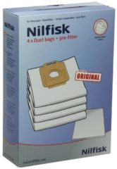 Nilfisk Power Staubsaugerbeutel für Staubsauger 1470416500, 107407639