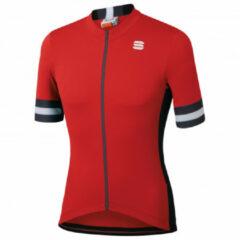 Sportful Sportful Kite Fietsshirt - Maat XL - Mannen - rood - zwart - wit