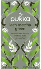 Pukka Org. Teas Lean Match groen Tea (20st)
