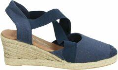 Nelson dames sandaal - Blauw - Maat 40