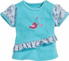 Blauwe Playshoes Broek Geen Baby T-shirt
