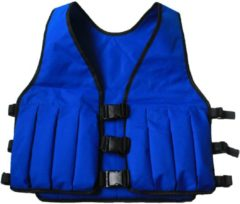 NordFalk gewichtsvest 5 kg - blauw - verstelbaar