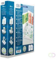Witte Elba personaliseerbare ringmap Polyvision Maxi rug van 6 cm
