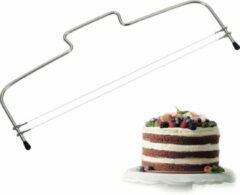 Westmark Simplex-Duo Taartsnijder met 2 getande Snijdraden - RVS - 32 cm