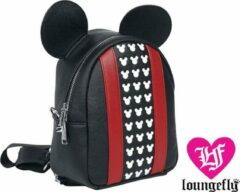 Rode Mickey Mouse - Applique and Debossed Detail Rugzak