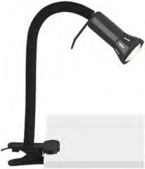 Brilliant Antony Klemlamp Spaarlamp Energielabel: Afhankelijk van de lamp E14 40 W Zwart