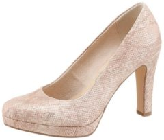 Tamaris - 1/22426/28 - Pumps klassiek - Dames - Maat 36 - Roze - 511 -Salmon Structure