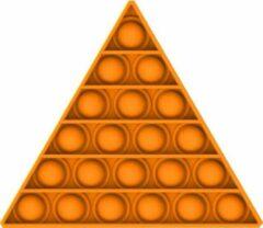 KJG Pop It Fidget - Pop Bubble - Driehoek - Oranje