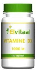 Elvitaal Vitamine D3 1000IE 25 mcg - 120 capsules