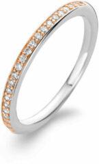 Zilveren TI SENTO Milano Ring 1923ZR - Maat 54 (17,25 mm) - Gerhodineerd Sterling Zilver