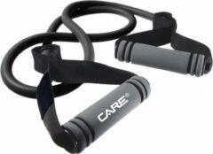 Grijze Care Fitness - weerstandband met handvaten - 12kg - Fitness elastiek - Functional Fitness