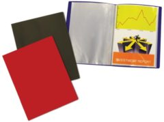 5 Star showalbum formaat A4 40 tassen geassorteerde kleuren. Inhoud: 1 showalbum