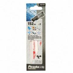 Black & Decker, DeWALT, ELU, Bosch, Makita, Metabo, Skil, Flex, Hitachi BLACK+DECKER Piranha Stichsäge, Metall 152 mm für Stichsäge X22182-XJ