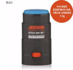 Blauwe JEEWIN Technical Sportscare JEEWIN Sun Blocker SPF 50 - BLAUW