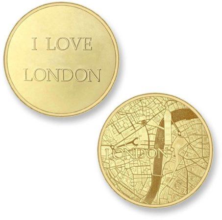 Afbeelding van Mi Moneda Del Mundo - London gold Del Mundo - London gold munt