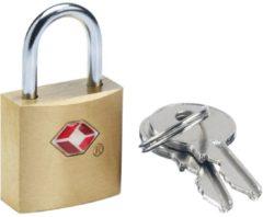 GoTravel Reisezubehör Solid Safe Secure TSA-Schlüsselschloss Herren braun