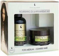 Macadamia Nourishing Moisture Oil Treatment with Mini Masque Unisex 125ml haarolie