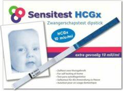 Sensitest zwangerschapstest dipstick sensitive 12 stuks