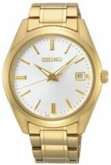 Seiko SUR314P1 herenhorloge goudkleurig saffierglas 40,2 mm