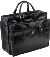 Story Uomo Bordtasche Aktentasche II Leder 45 cm The Bridge nero-nero