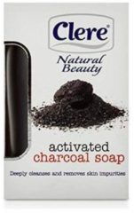 Clere - Natural Beauty - Activated Charcoal - Soap 150g