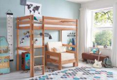 Relita Einzel-/Hochbett, wahlweise mit Schreibtisch und Regal