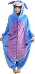Blauwe Student Onesie Eeyore Onesie Verkleedkleding - Volwassenen & Kinderen - L (168-175 cm)